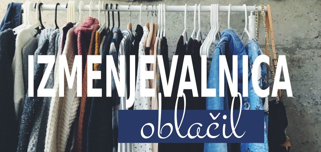 Izmenjevalnica oblačil oktober / ODPOVEDANO
