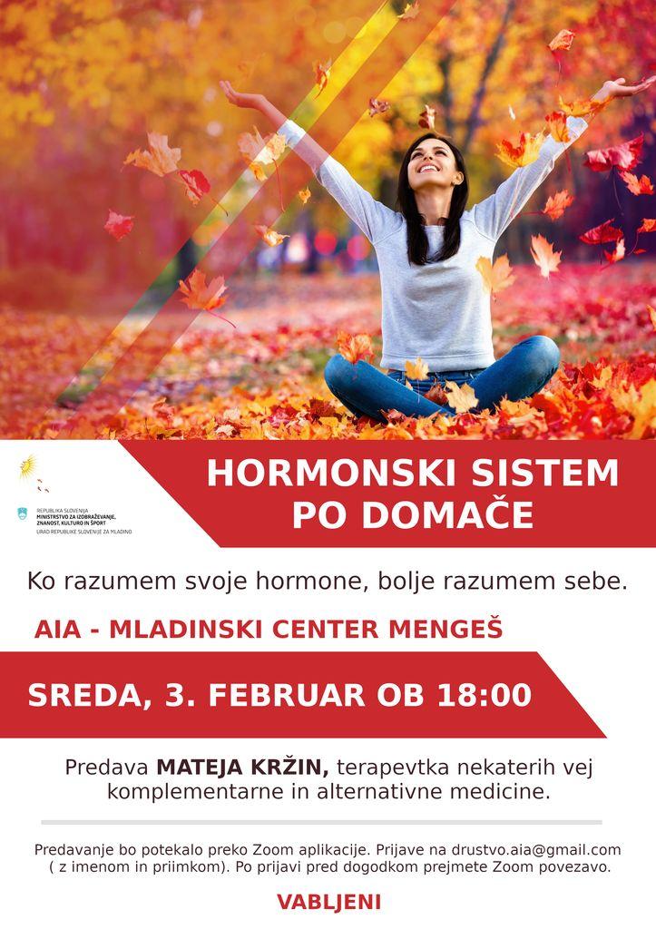 Hormonski sistem po domače