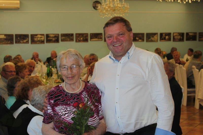 Ema Kroflič na svoj 84. rojstni dan