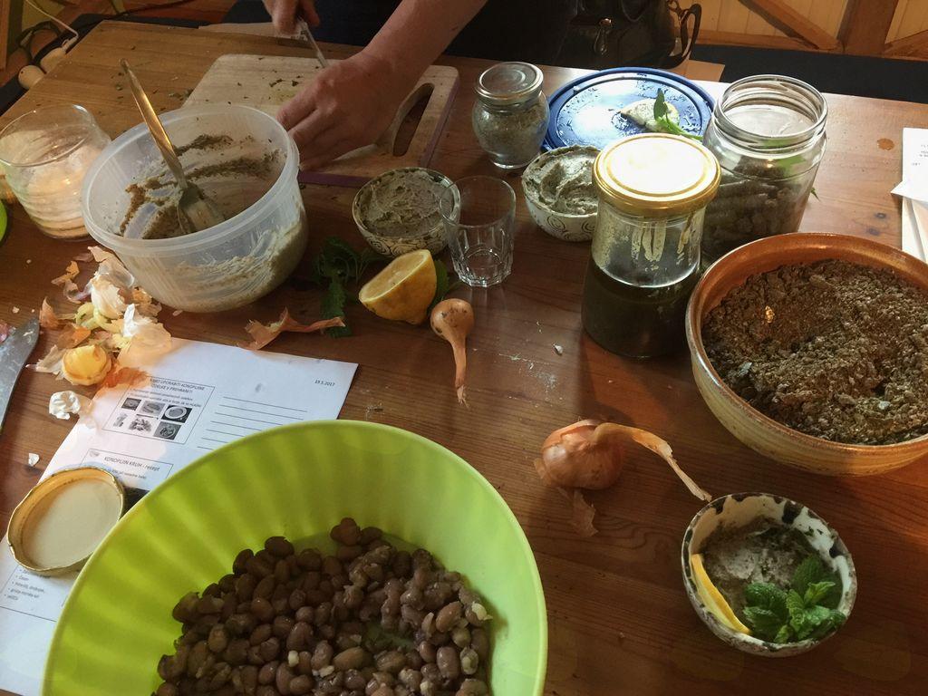 Kulinarična delavnica na Kmetiji Vrhivšek v Lindeku