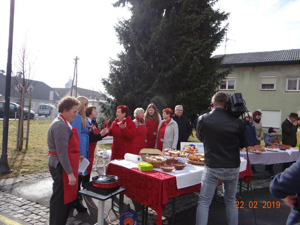 Predstavitev kulinarike Turističnega društva Mengeš