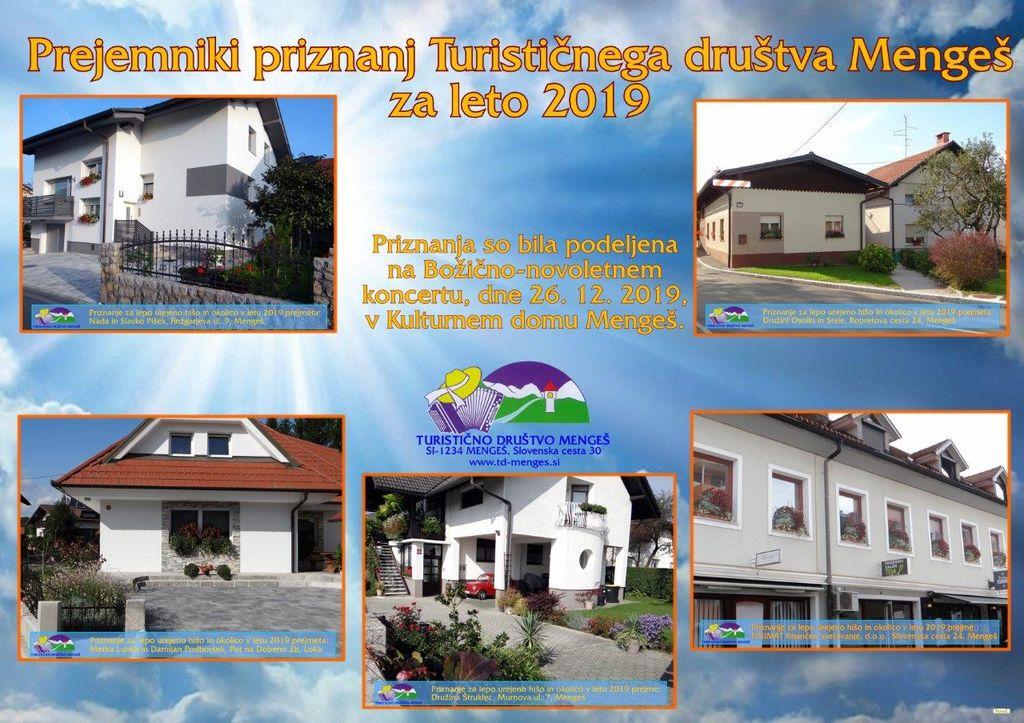 Podelitev priznanj Turističnega društva Mengeš