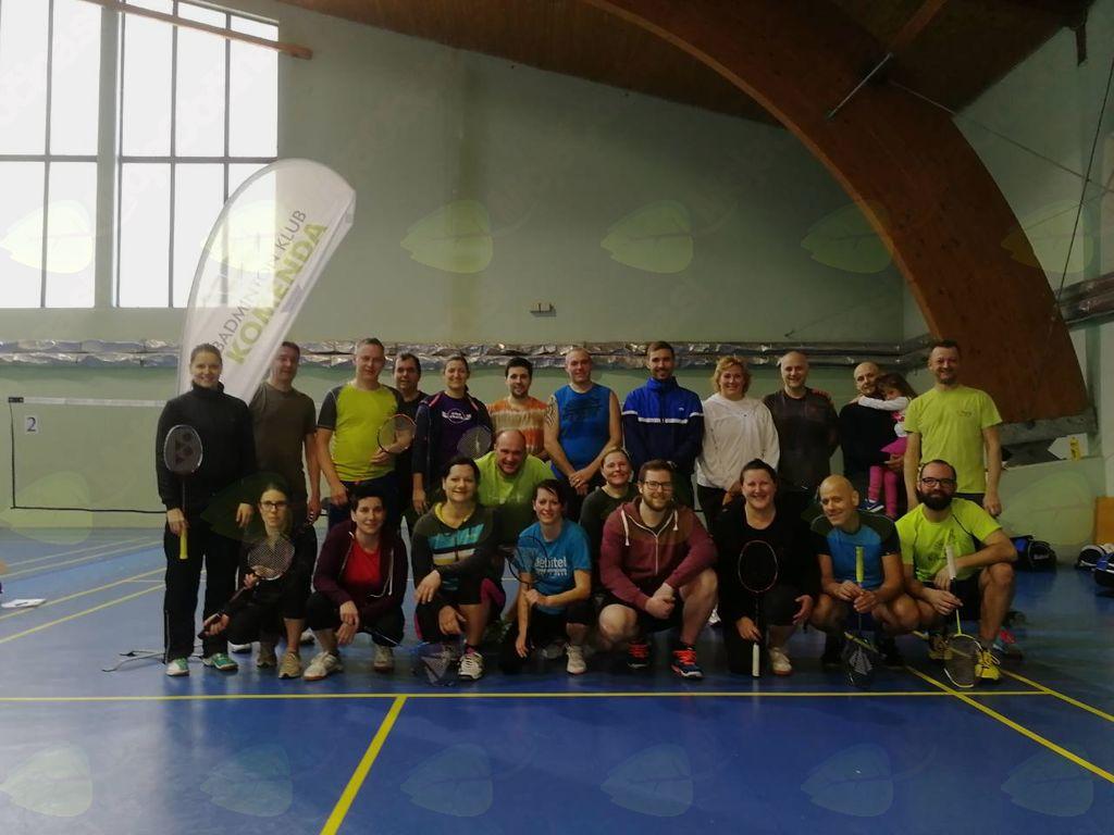 Tečaj badmintona z olimpijko Majo Tvrdy