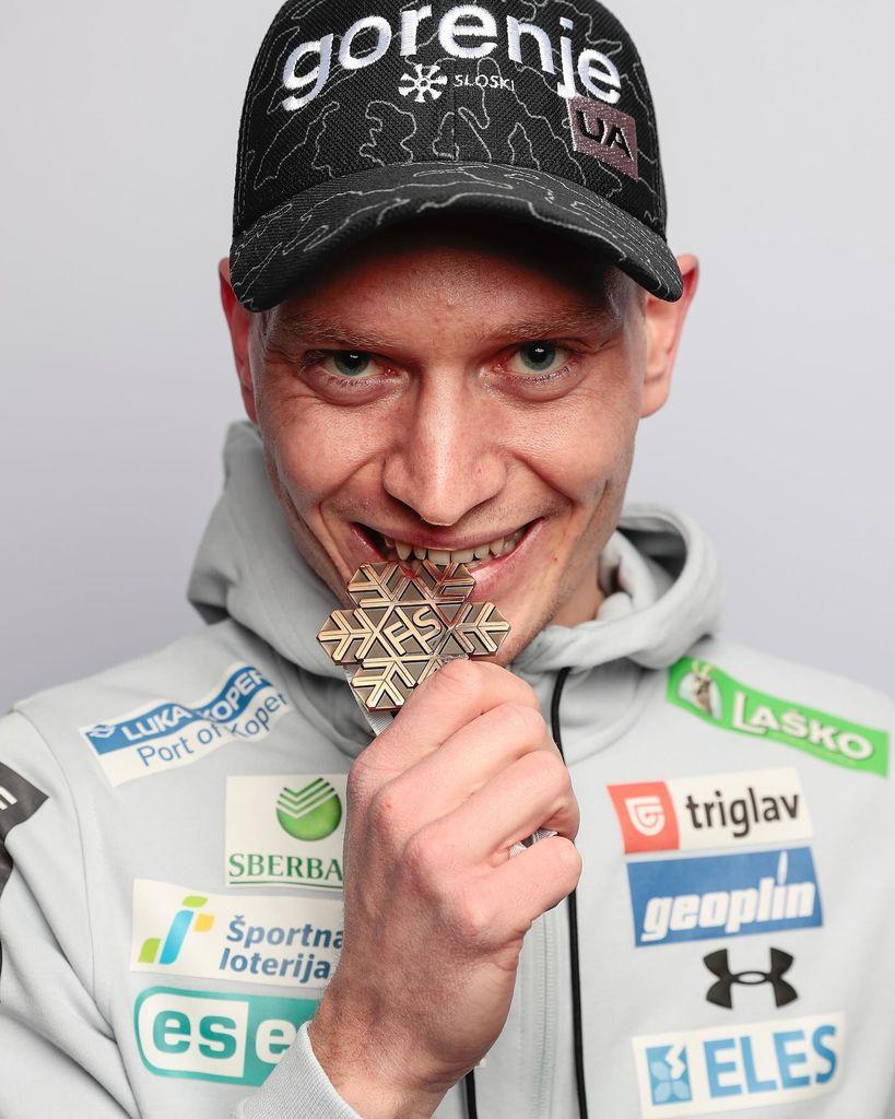 Anže Lanišek je imel v minuli zimi obilo razlogov za zadovoljstvo.
