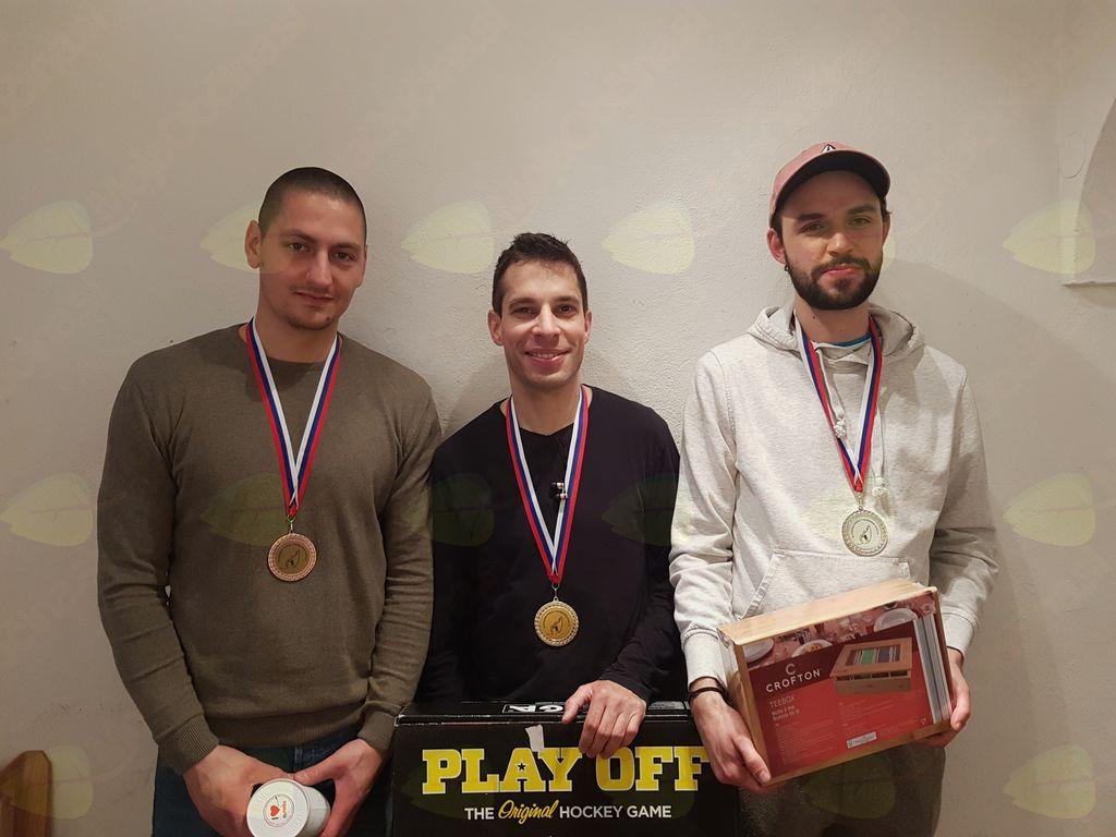 Najboljši trije: Jaka Škrlep, Bernard Rjavec in Tim Weisseisen