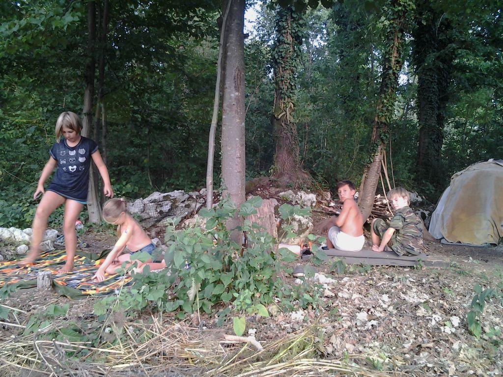 Bojevniški tabor šole HOSTA za osnovnošolce