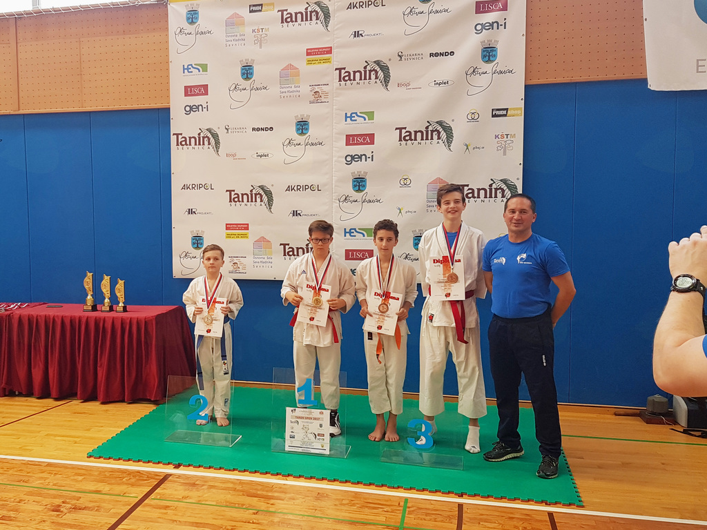 Karate turnir v Sevnici