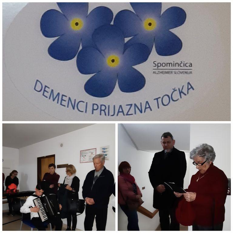 Odprtje Demenci prijazne točke v Sevnici