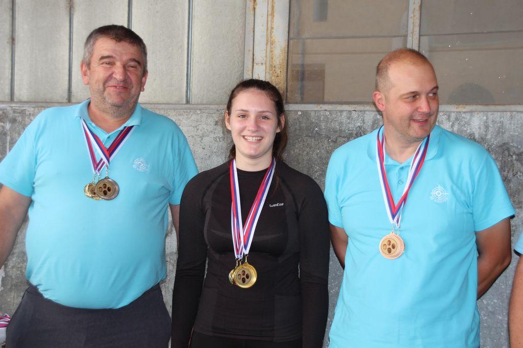 Zmagovalna ekipa iz Kisovca