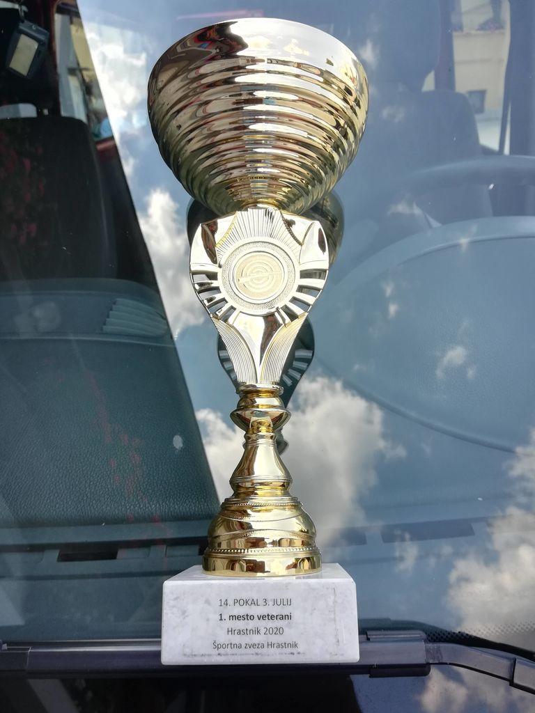 Osvojeno 1. mesto ekipno v Hrastniku