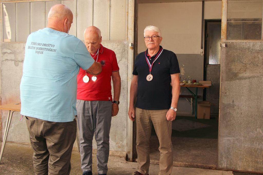 Podelitev medalj najboljšim