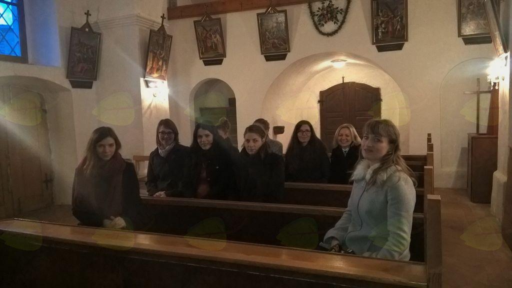 Ogledale so si tudi cerkvico sv. Jurija iz 16. stol.