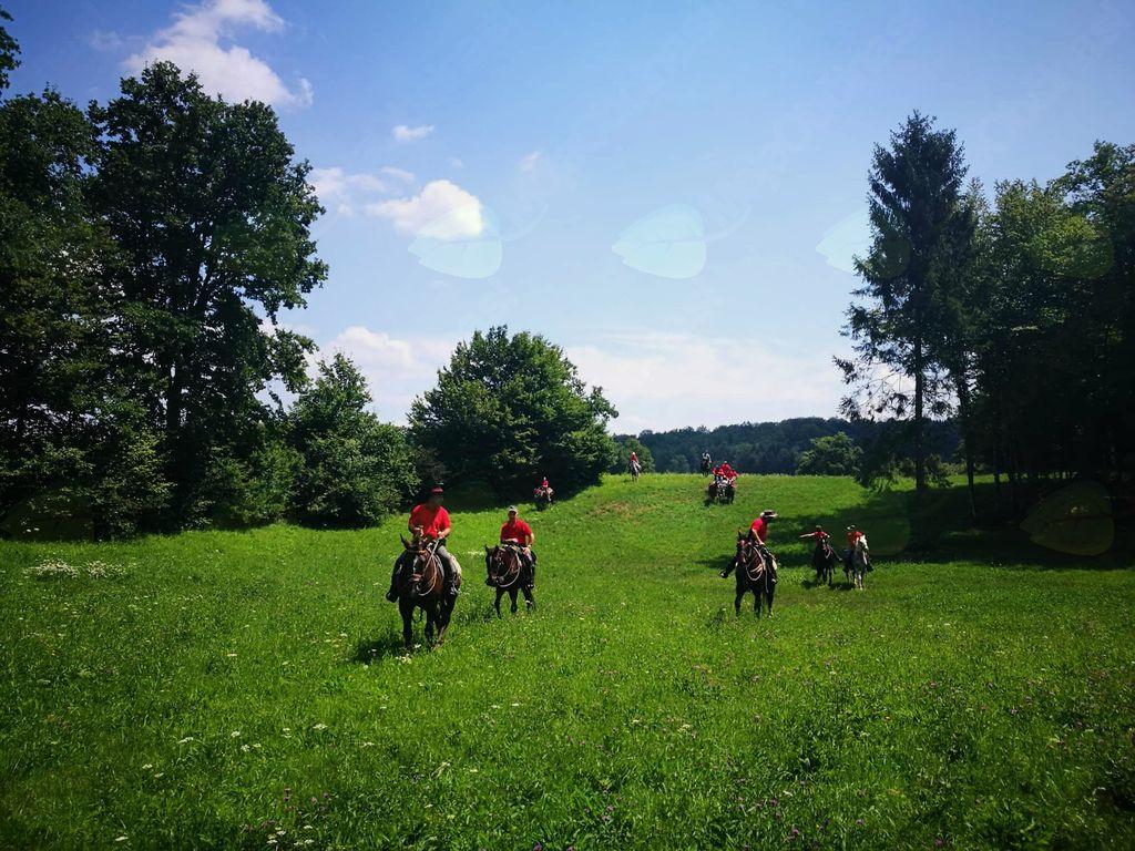 Mirnopeška konjenica na Izviru Krke
