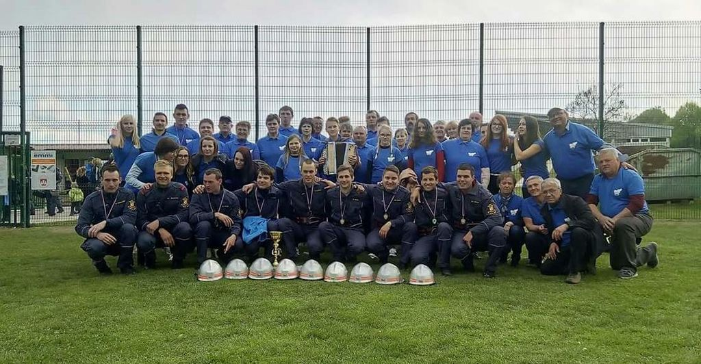 Gasilci PGD Hmeljčič so v Slovenski Bistrici dosegli uvrstitev na gasilsko olimpijado v Villachu.