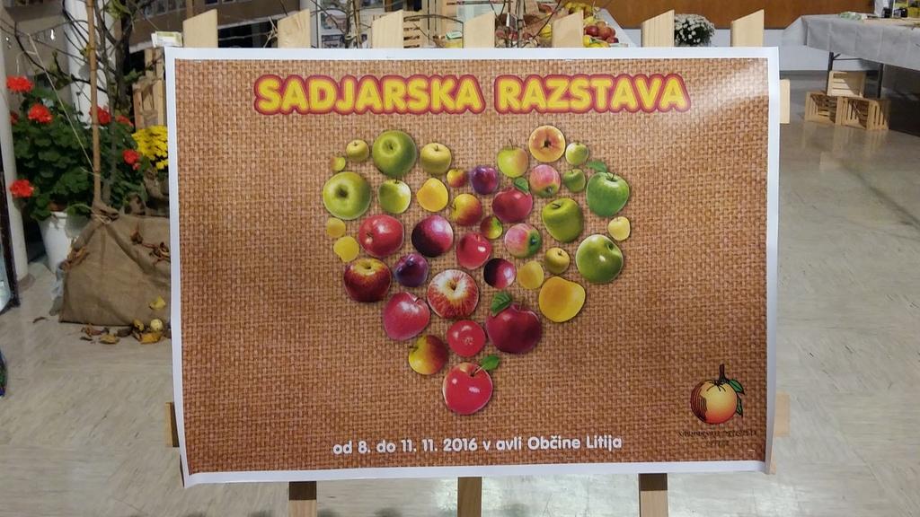 Razstava o pridelavi sadja na našem območju