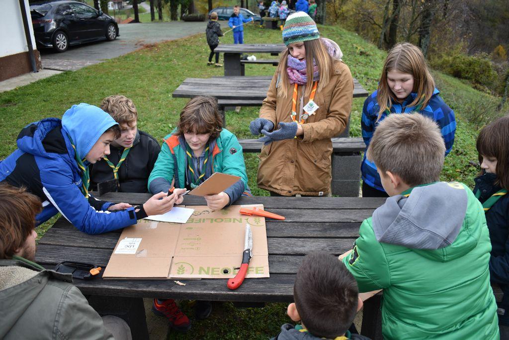 Jesenovanje tabornikov 2019