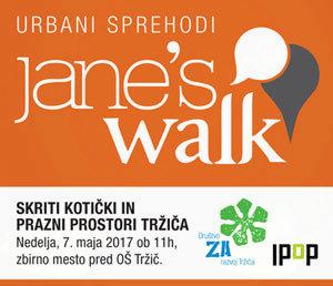 Jane's Walk: Skriti kotički in prazni prostori Tržiča