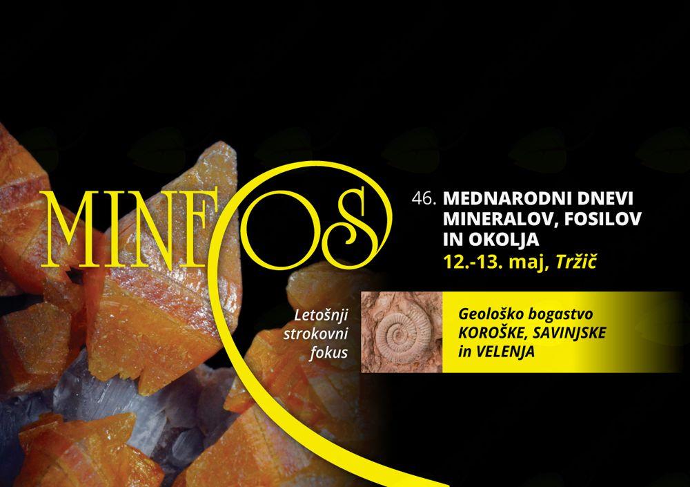 Mednarodni dnevi mineralov, fosilov in okolja - 46. MINFOS