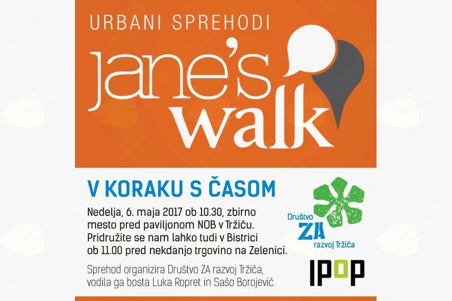 "Jane""s Walk: V KORAKU S ČASOM"