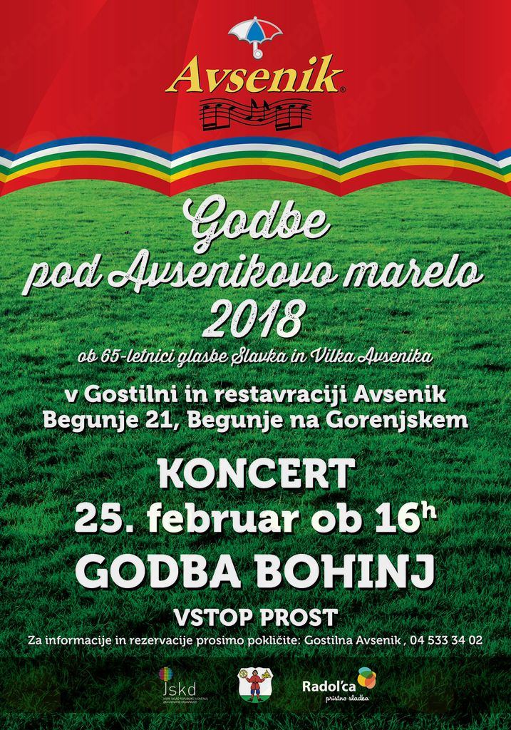 "Godbe ""Pod Avsenikovo marelo"""