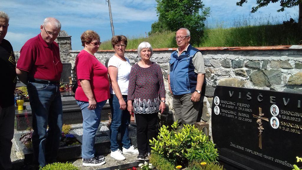 Spominski obisk grobišč, obeležij in krajev