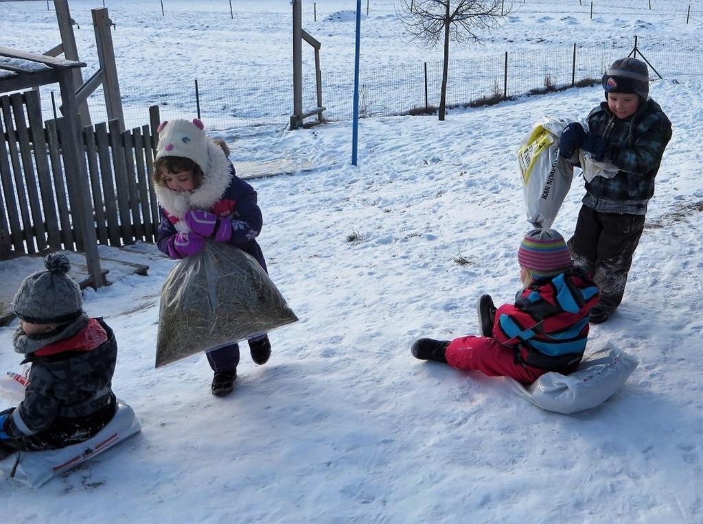 Zima v našem vrtcu