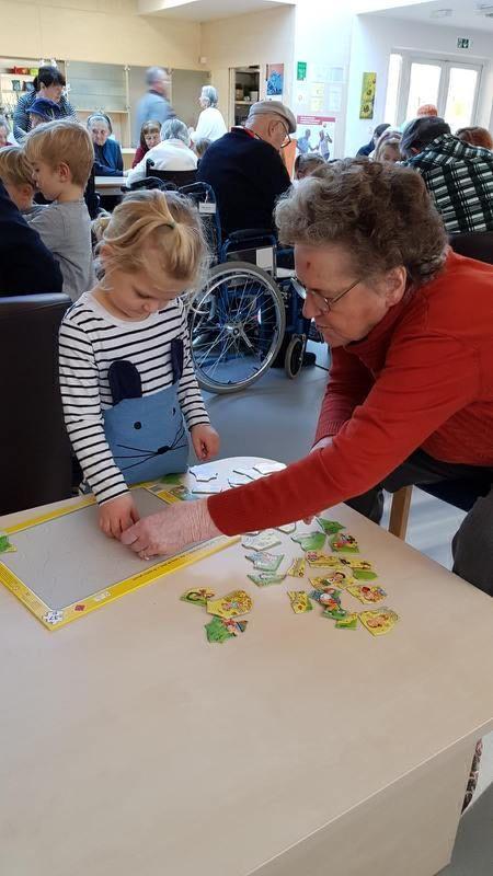Sodelovanje vrtca z domom starejših občanov