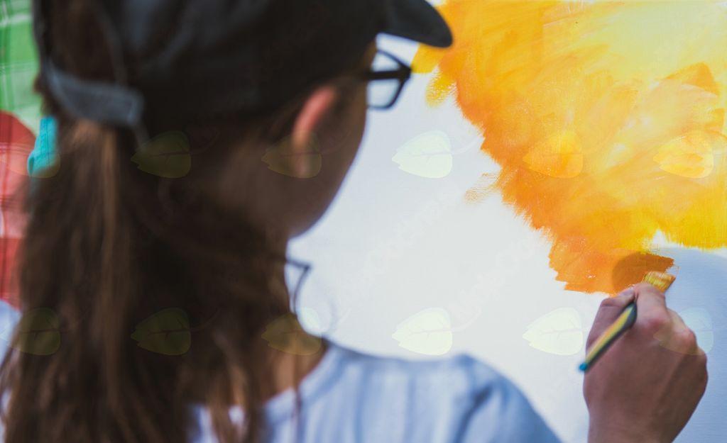 Predstavitvena delavnica kreativnega slikanja za odrasle