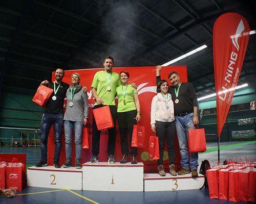 Zmaga v mešanih dvojicah (XD B) za člana Badminton kluba Mengeš