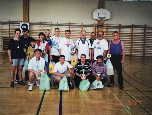 Udeleženci turnirja pred leti