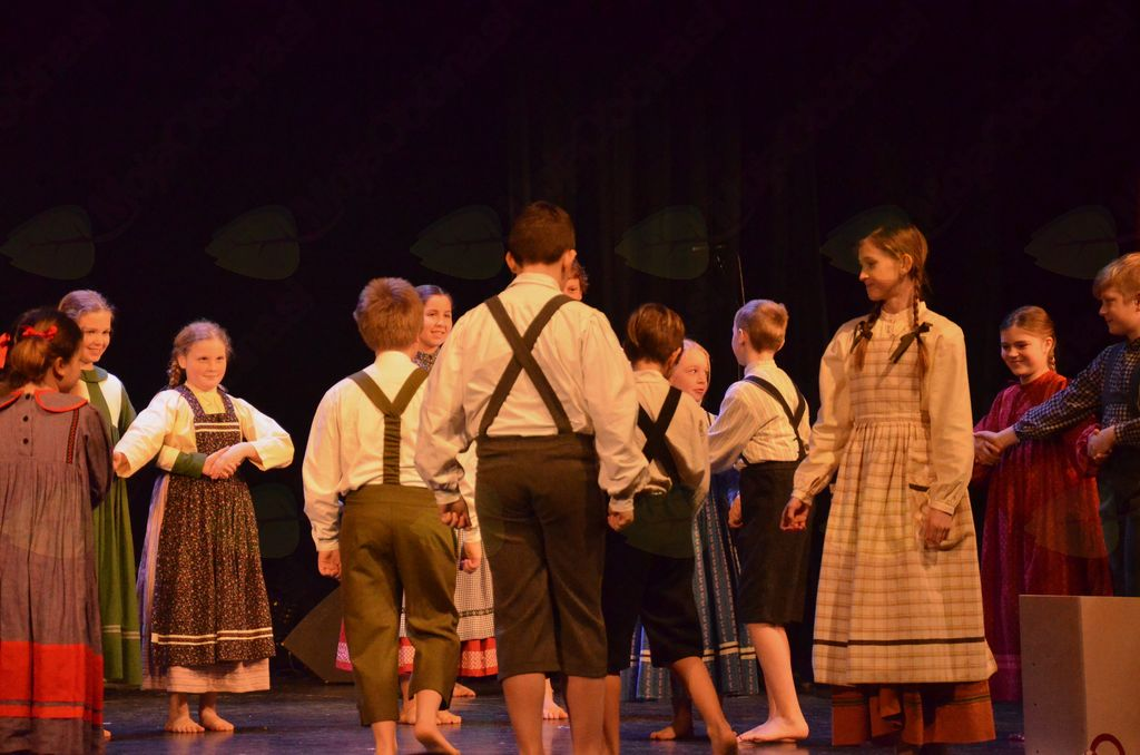 Otroška FS Mengeš na odru