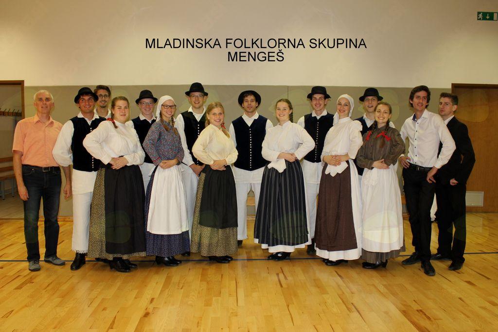 Mladinska FS Mengeš – mednarodni folklorni festival Trzin