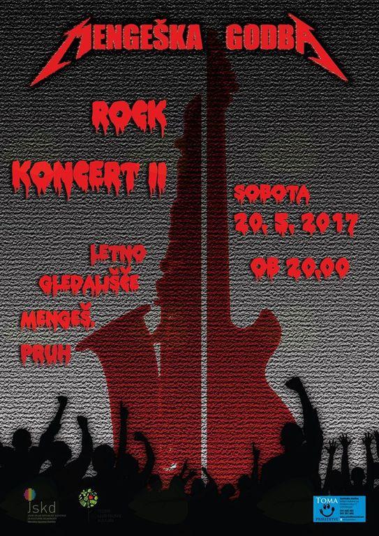 Rock koncert II (Mengeška godba)