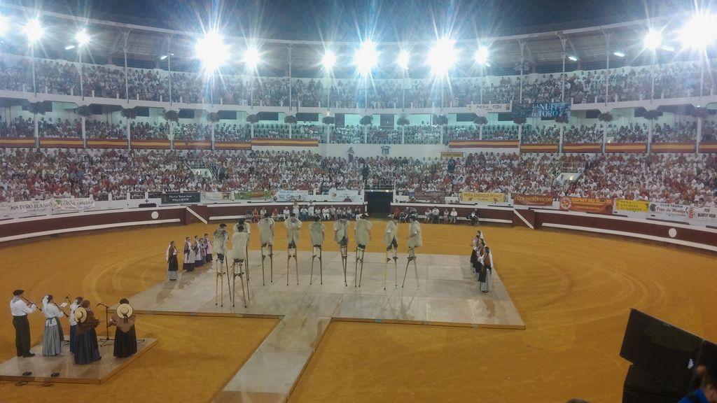 Arena v Daxu, kjer ne zaigrala tudi Mengeška godba