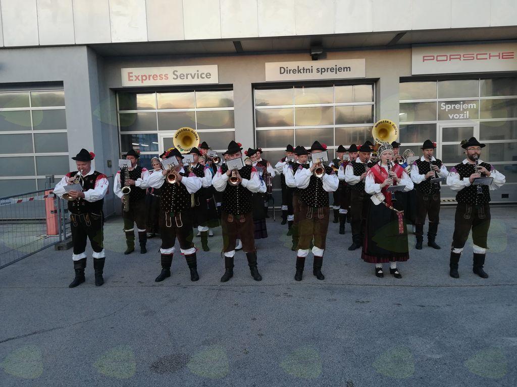 Mengeška godba že tretjič na Oktoberfestu v Ljubljani
