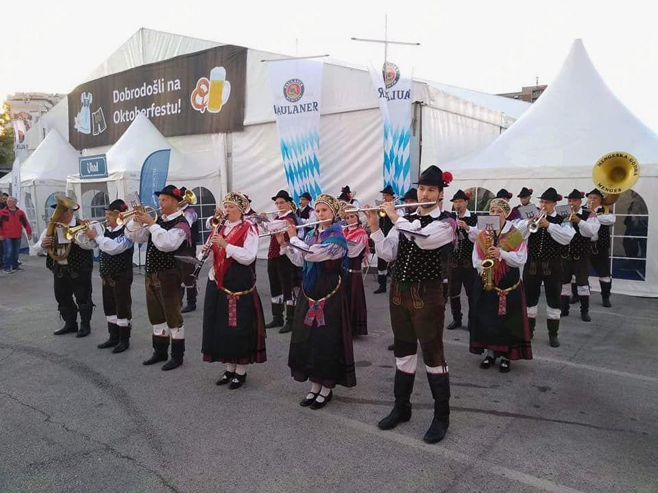 Oktoberfest v Ljubljani. Foto: A. P.