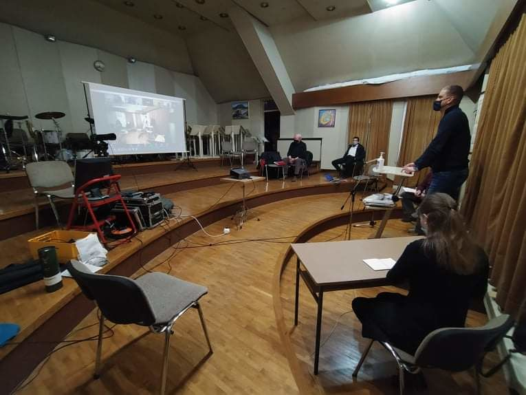 Redni letni občni zbor Mengeške godbe je potekal v GD in preko ZOOMA.