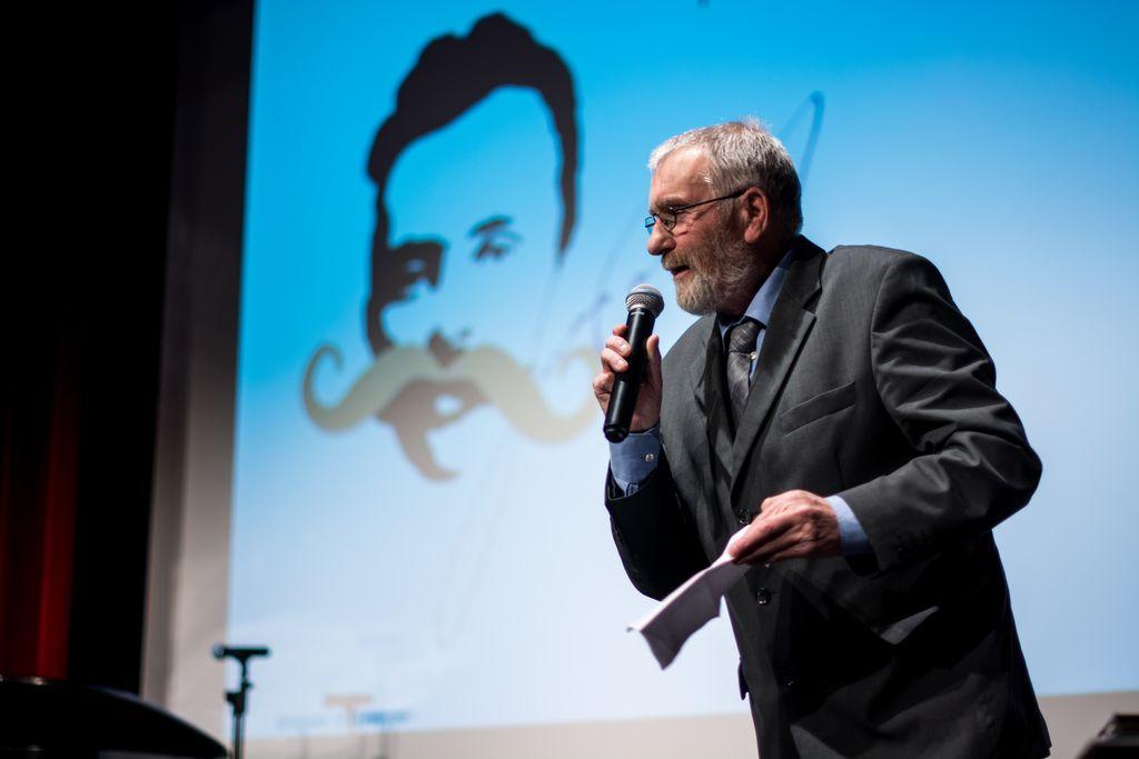 Jože Valentinčič, predsednik Krajevne skupnosti Anhovo - Deskle. Foto: Jernej Kravos