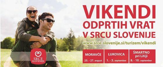 Vikend odprtih vrat v Srcu Slovenije - LUKOVICA