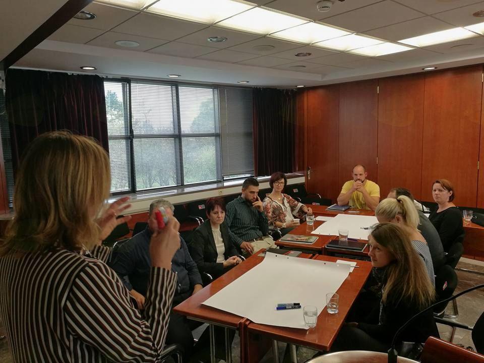 Utrinki iz podjetniške delavnice za oblikovanje inovacijskih ekosistemov v Srcu Slovenije