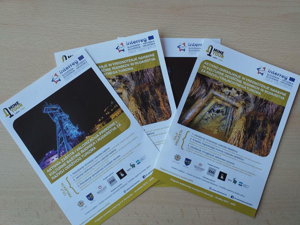 Zbiranje arhivskega gradiva za oblikovanje turističnega proizvoda Mine Tour