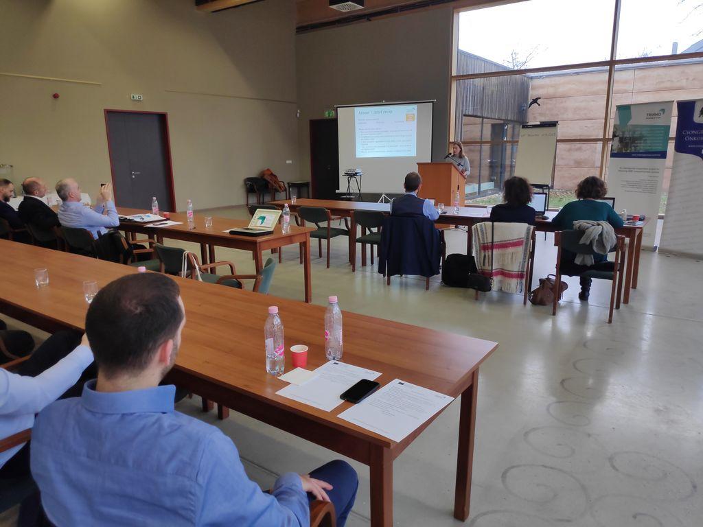 Anita Molka, Razvojni center Srca Slovenije, med predstavitvijo rezultatov