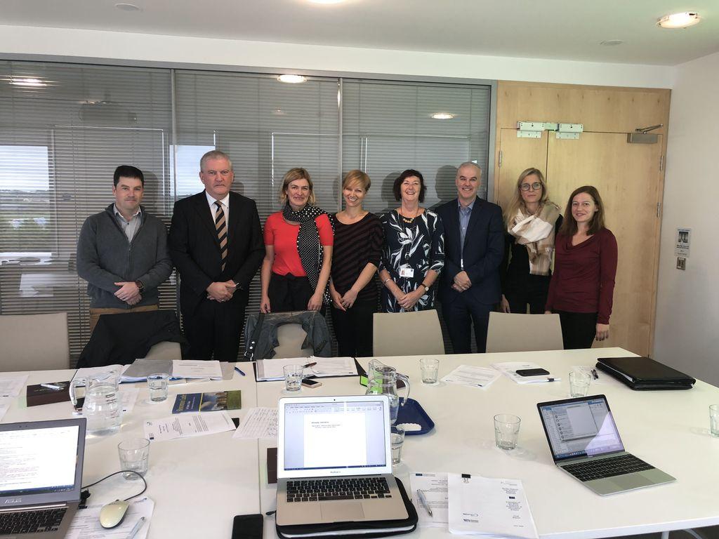 Predstavnice Razvojnega centra Srca Slovenije in Ministrstva za gospodarski razvoj in tehnologijo med ogledom dobre prakse na Irskem