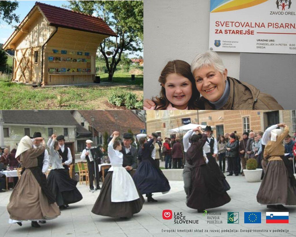 V LAS Srce Slovenije podprti trije evropski projekti iz Lukovice