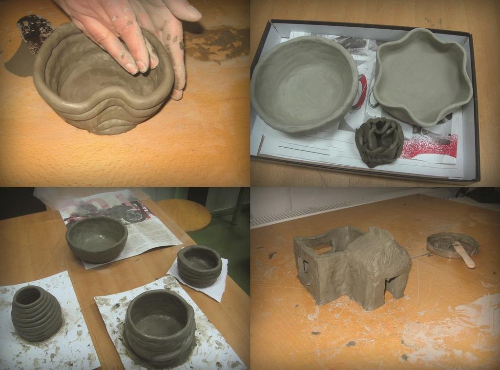 Oblikovanje iz gline za otroke in odrasle