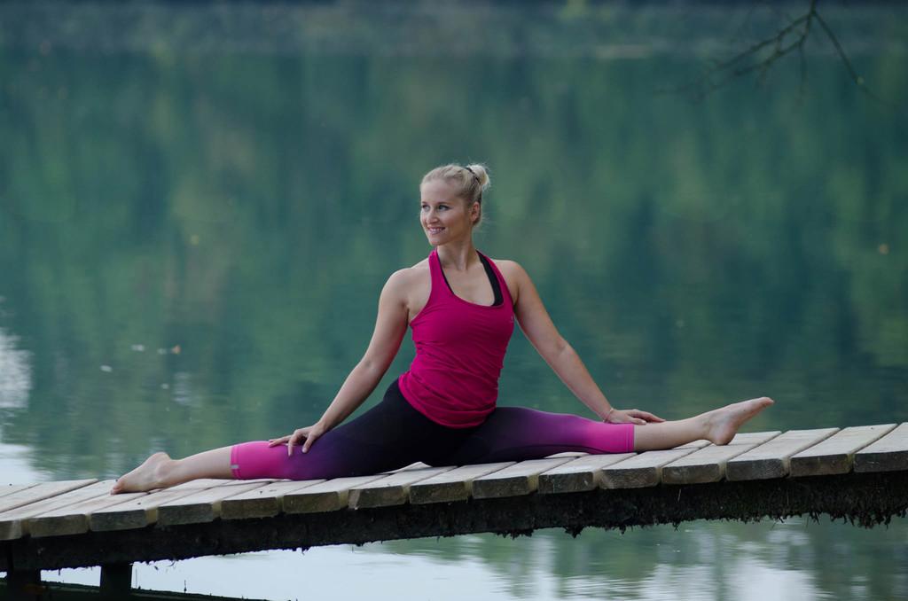 Vitalni jogijski oddih na morju