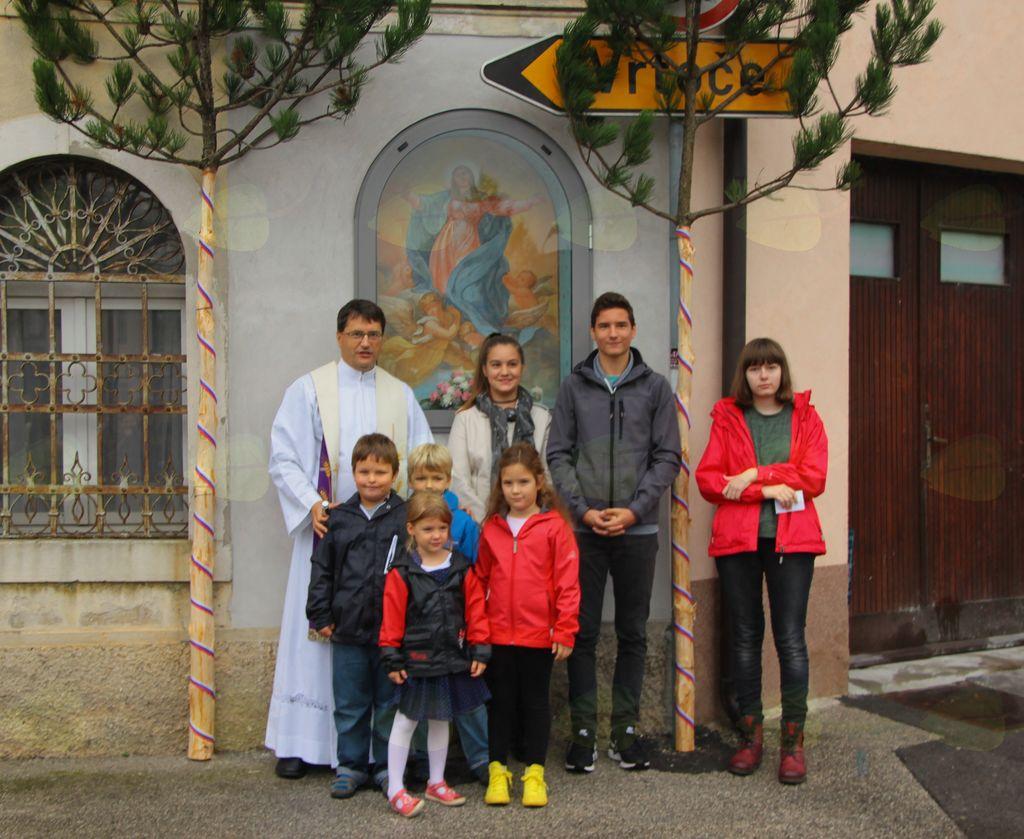Obnovljena kapelica pri Štantu