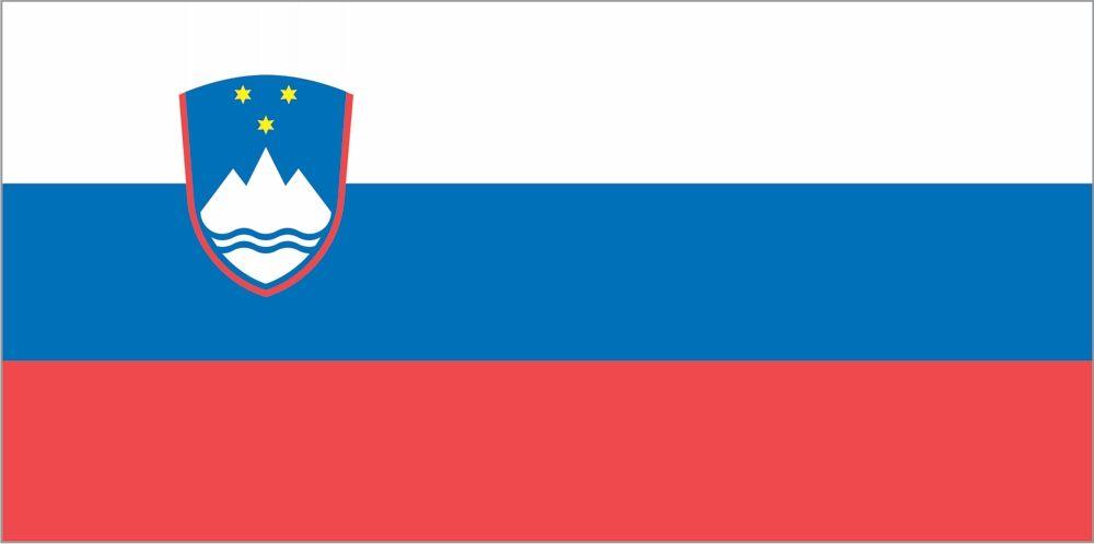 Zastava na drogu, ki plapola