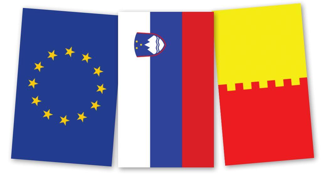 Tri zastave