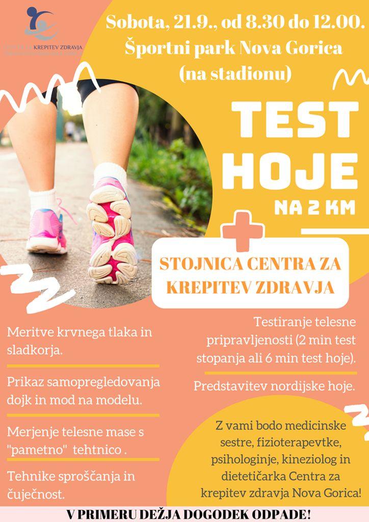 Test hoje